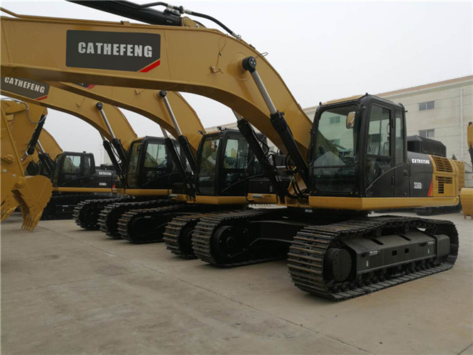 336D2 large CAT crawler hydraulic 35 ton 1.8 m³ excavator/ digger/big digging machine