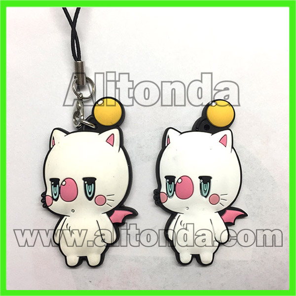 PVC pendant mobile phone bags cartoon cute pendants