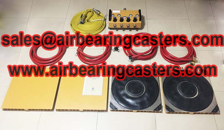 air pads for moving equipment and price