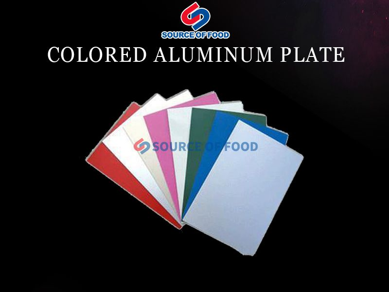 Colored Aluminum Plate