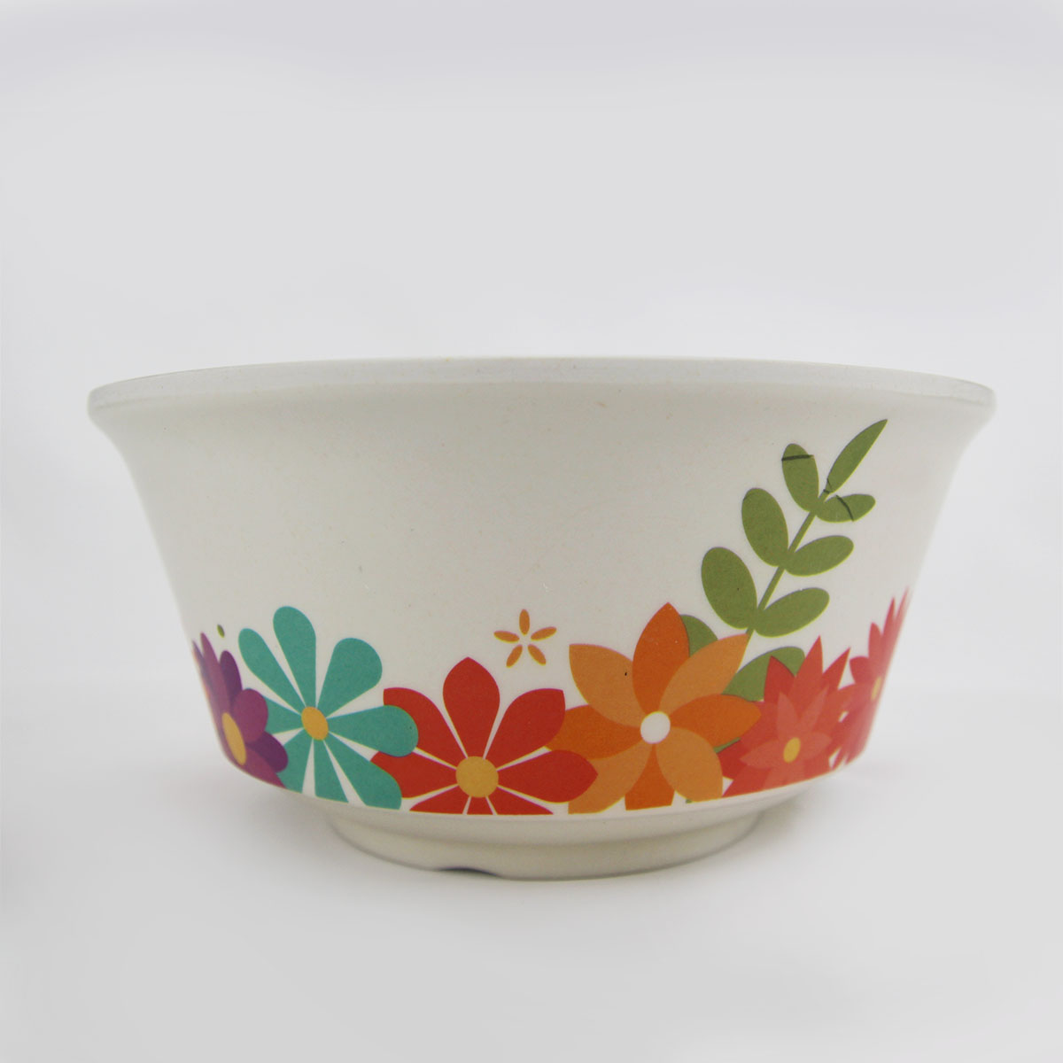 Hot Selling Kitchen Bamboo Fiber Plastic Salad Bowl