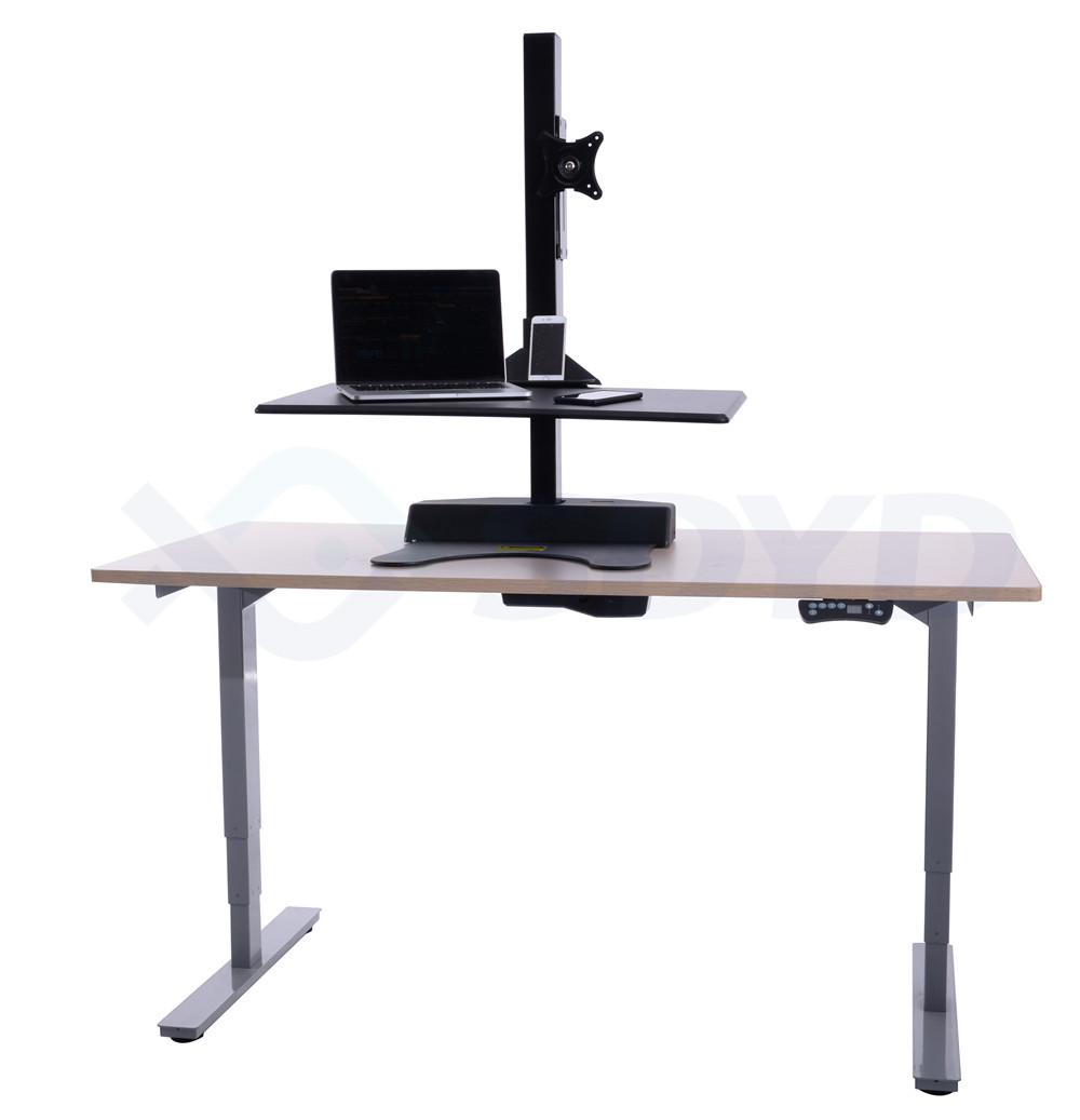 2018 New Product Bamboo Standing Desk