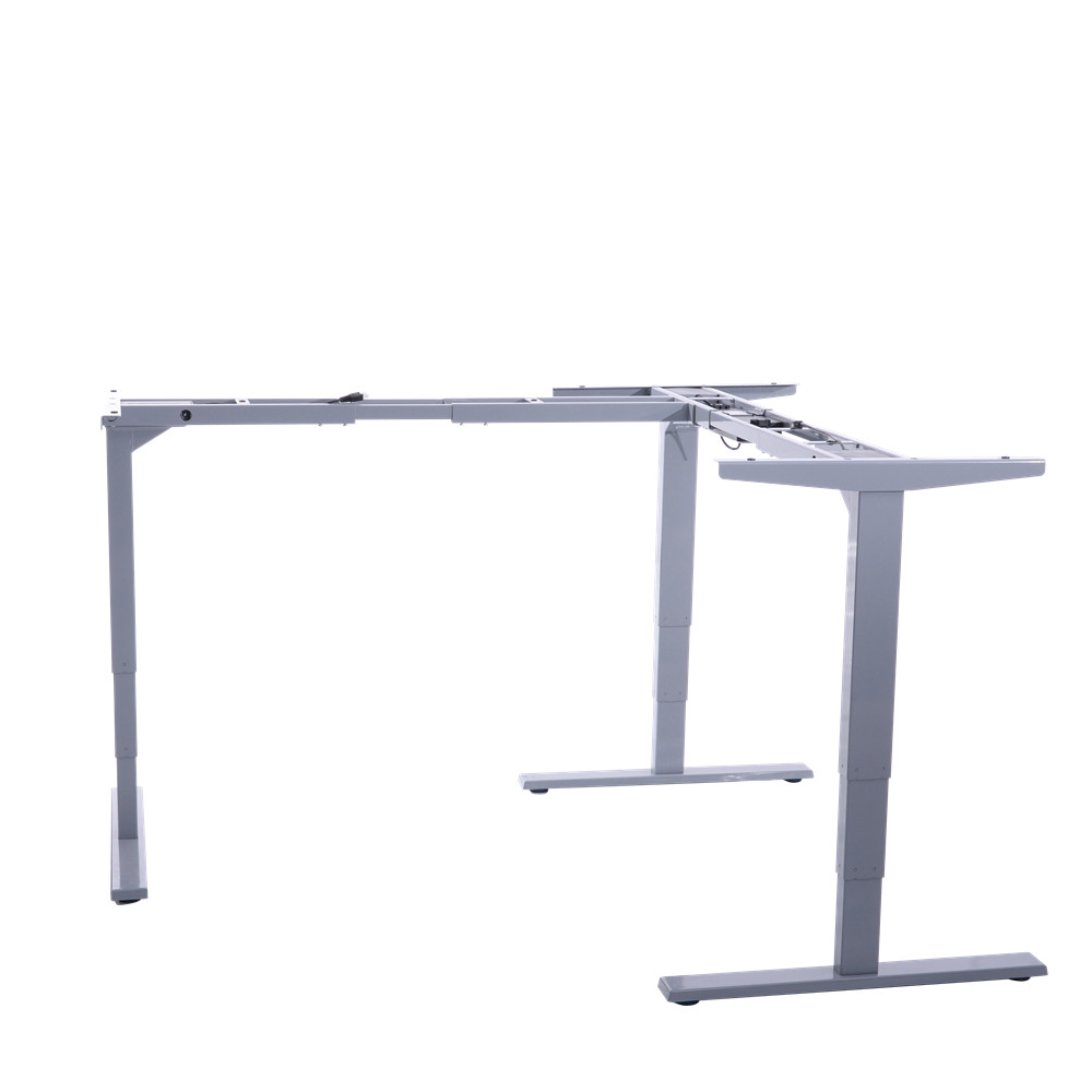 Electronic Height Adjustable Standing Desk with Three Feet