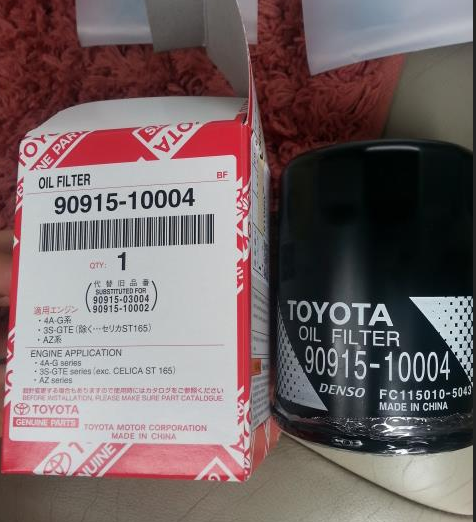 90915-10004 oil filter manufacturers for car Engine auto parts