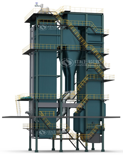 DHX Circulating Fluidized Bed Steam Boilers