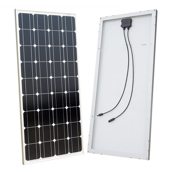 100W 12V Monocrystalline Solar Panel for Solar Power Systems