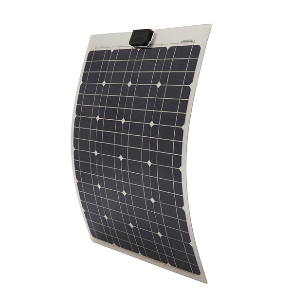 40W Semi-Flexible Monocrystalline Solar Panel For 12V Battery Charging