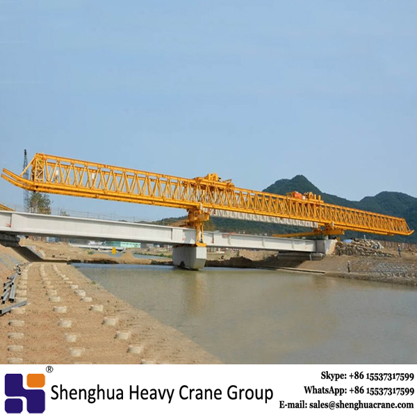 High way 250 ton bridge erection machine beam launcher