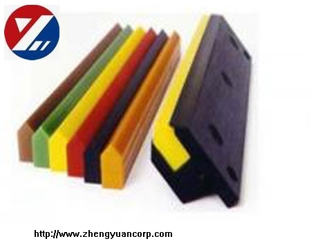 Polyurethane belt cleaning blade