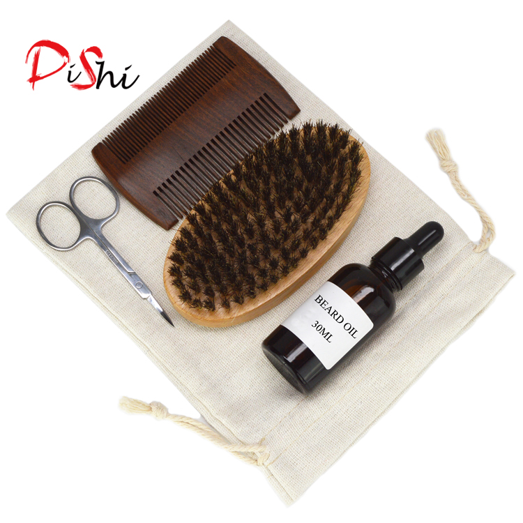 Dishi Private Label beard growth oil beard grooming kit for men
