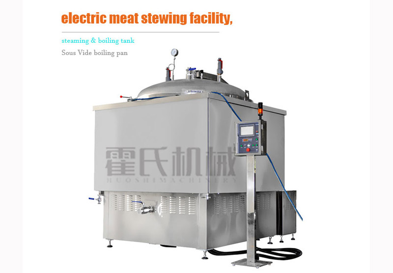 Electric Meat Stewing Facility, Steaming & Boiling Tank,Sous Vide Boiling Pan