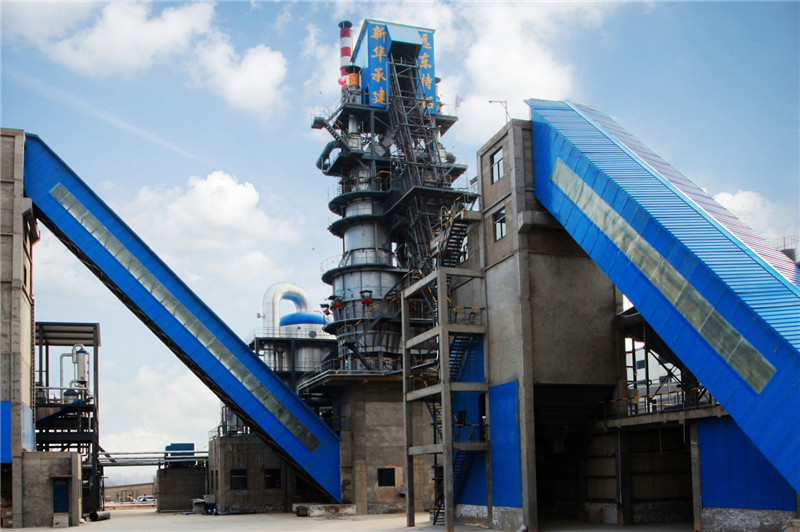 China suppliers twin shaft lime kilns for active lime