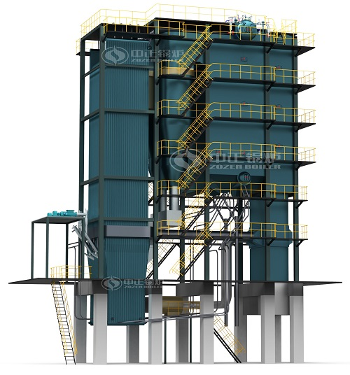 SHX sries circulating fluidized bed steam boiler