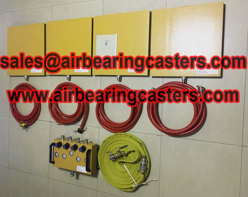 air casters safe and almost frictionless