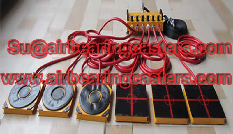 air casters also called Air bearing movers