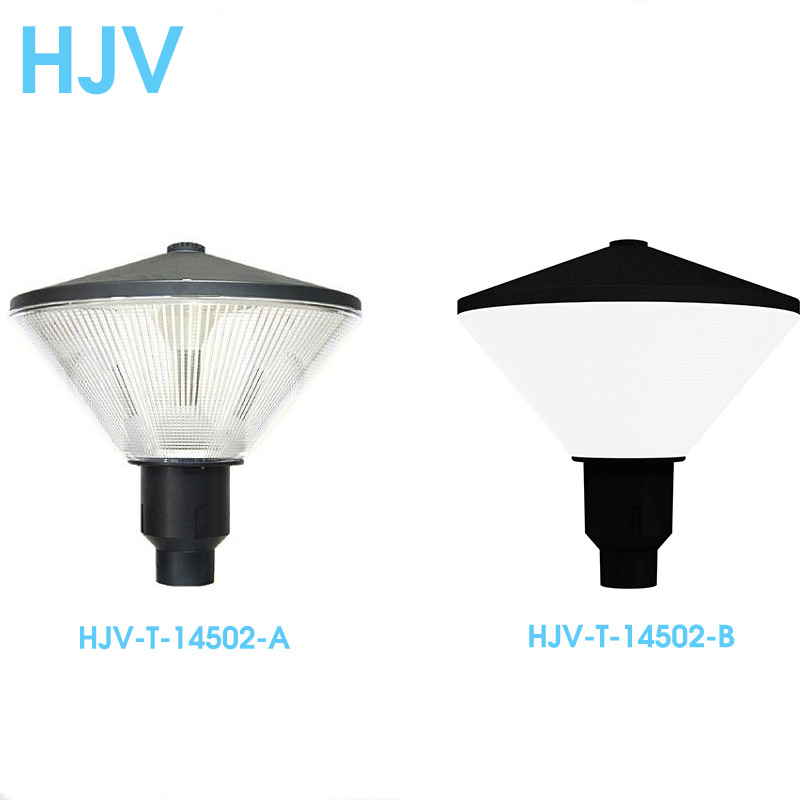 European Style Warm White LED Post Light Aluminum Body