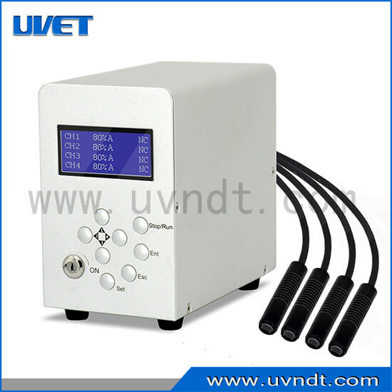 4 Channel UV LED spot curing system