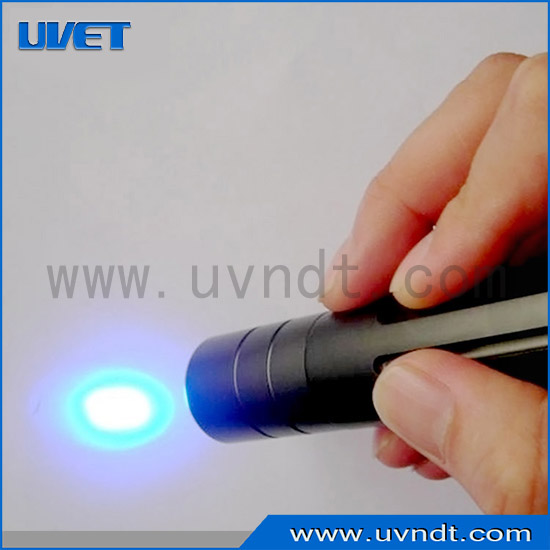 Portable 365nm UV LED spot curing lamp