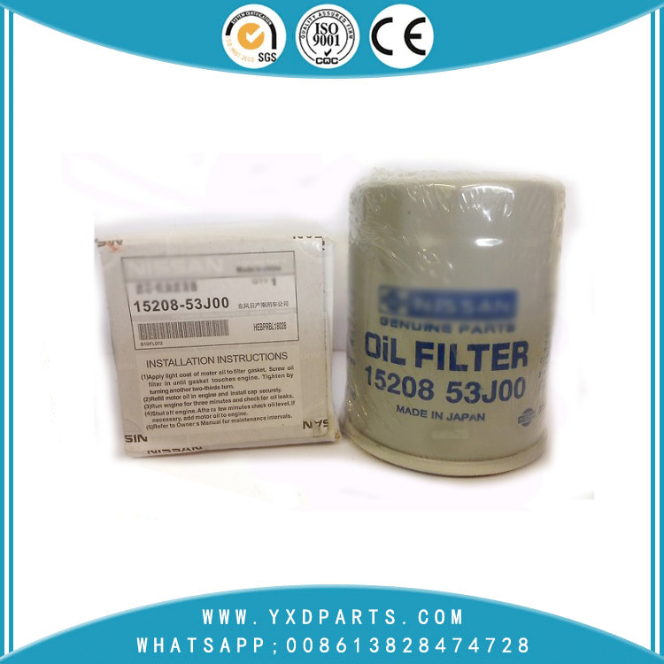 15208-53j00 oil filter manufacturers for nissan car Engine auto parts factory