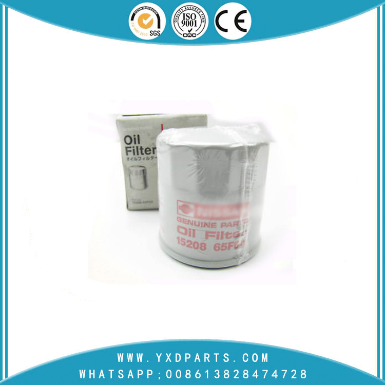 15208-65F0A oil filter manufacturers for nissan car Engine auto parts factory