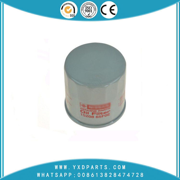 15208-65F0E oil filter manufacturers for nissan car Engine auto parts factory