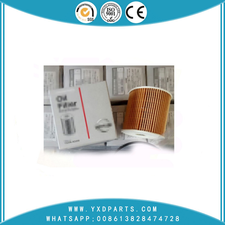 15208-AD200 oil filter manufacturers for nissan car Engine auto parts factory