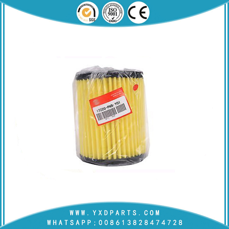 17220-PNB-Y01 oil filter manufacturers for honda car Engine auto parts factory