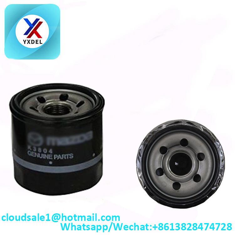 B6Y1-14-302A oil filter manufacturers for Mazda car Engine auto parts factory