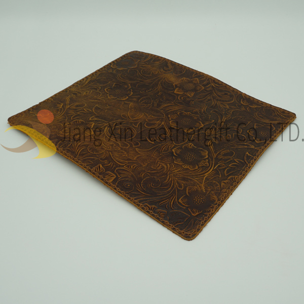 Personalised Real leather mouse mat for Leather gift