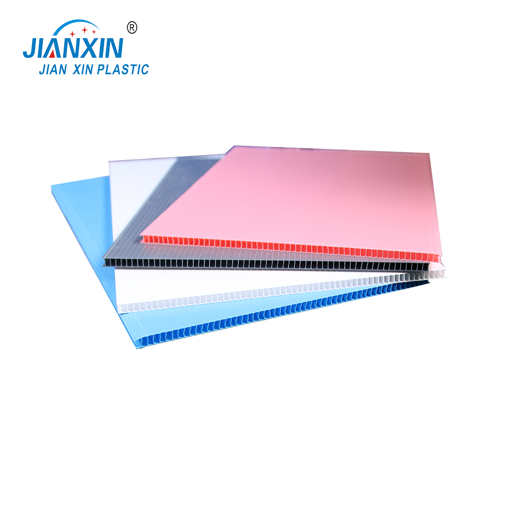 2-12mm colorful hollow plastic sheet / board / plate