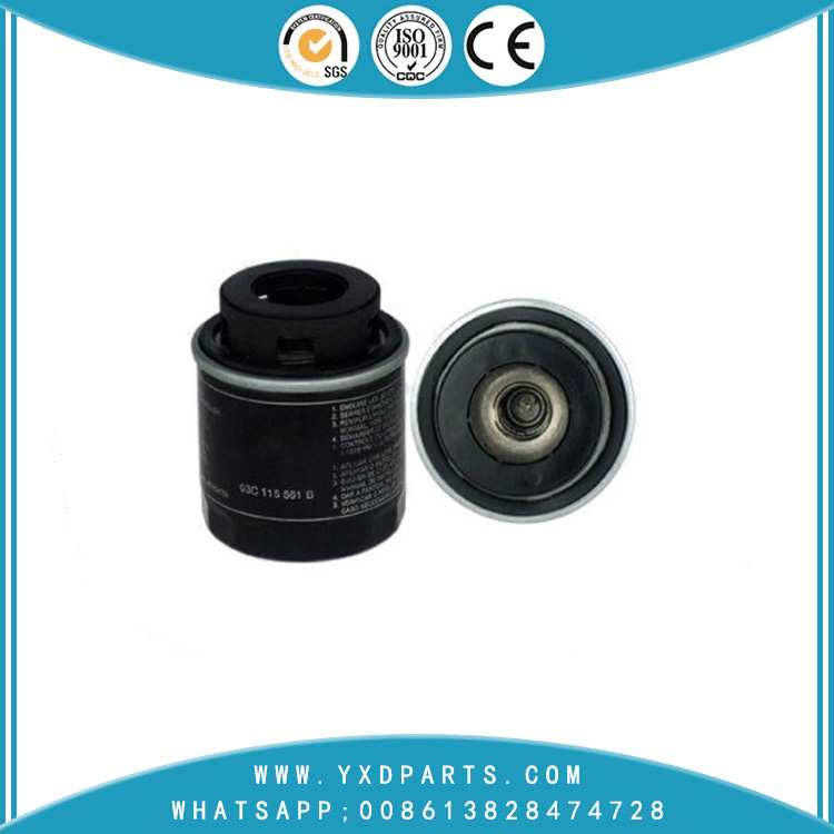 03c115561b oil filter manufacturers for VW Audi car Engine auto parts factory
