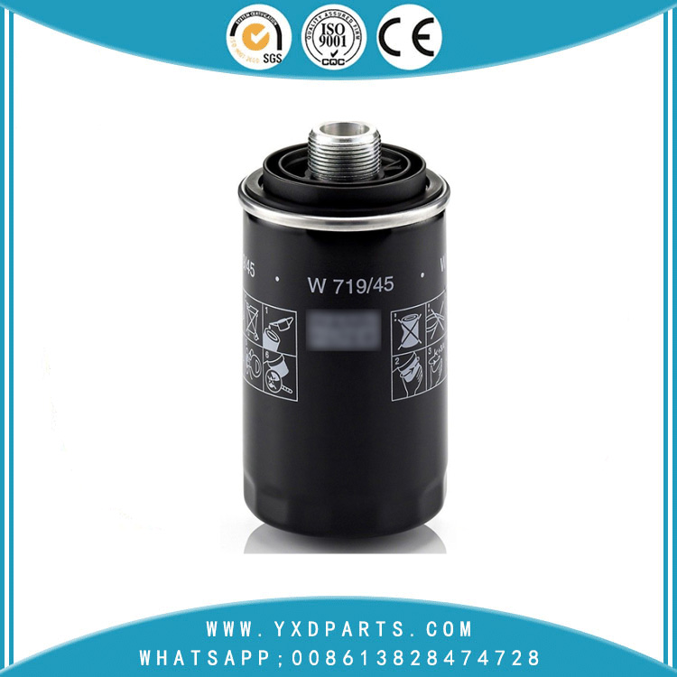 06J115561B oil filter manufacturers for VW Audi car Engine auto parts factory