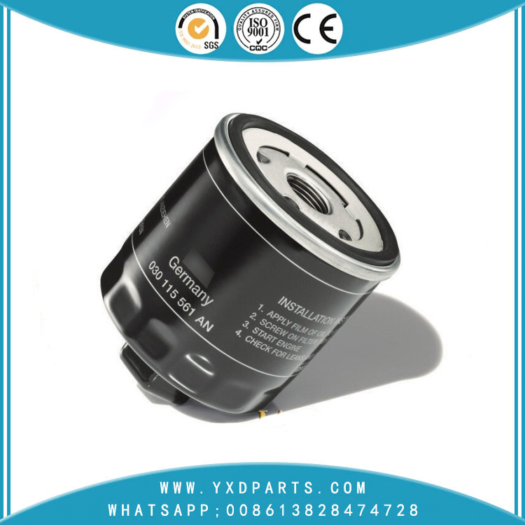 030115561AB oil filter manufacturers for VW Audi car Engine auto parts factory