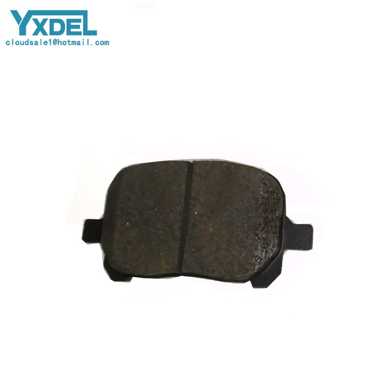 Chinese manufacturer wholesale car Semi-metallic Brake Pads oem 04465-33130 for TOYOTA LEXUS