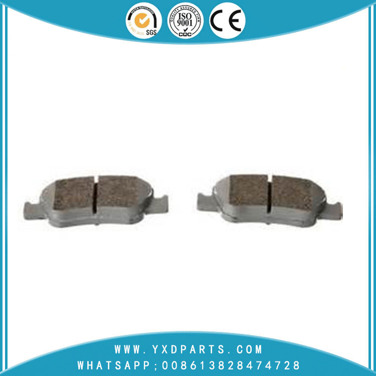 Manufacture car brake pad factory oem 04465-0d050 for toyota DAIHATSU