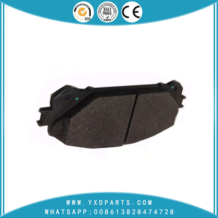 China Car genuine spare parts manufacturer Ceramic Brake Pad oem 04465-0E010 for LEXUS TOYOTA