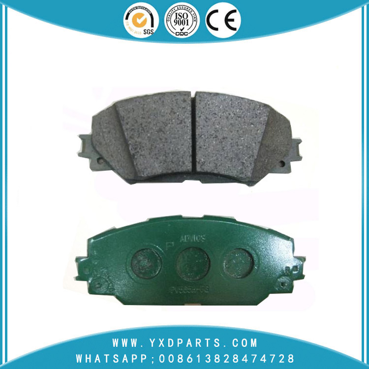 China  Low Noise Brake Pad Manufacturer oem 04465-02220 for SCION PONTIAC TOYOTA LEXUS