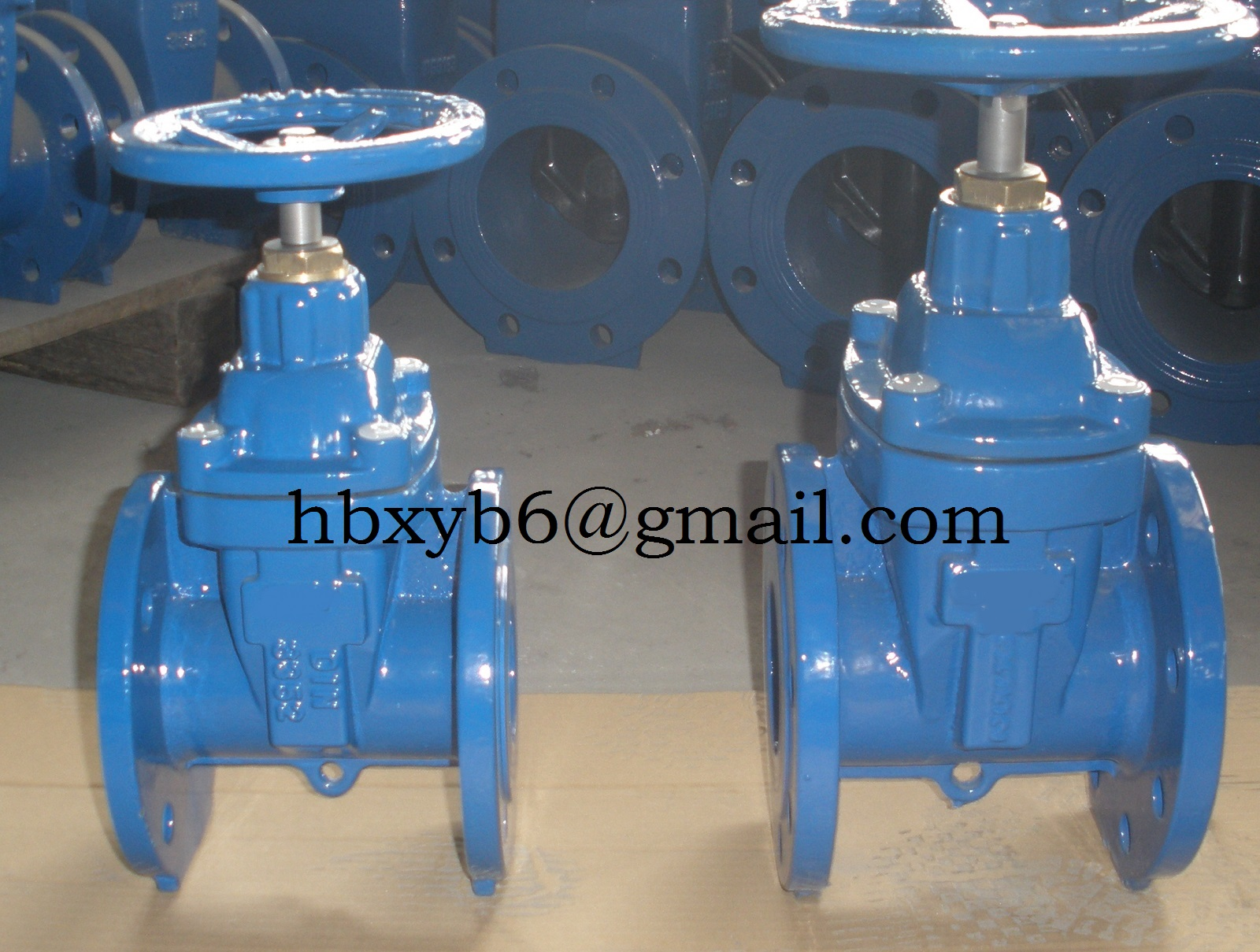 Resilient seated  gate valve BS5163
