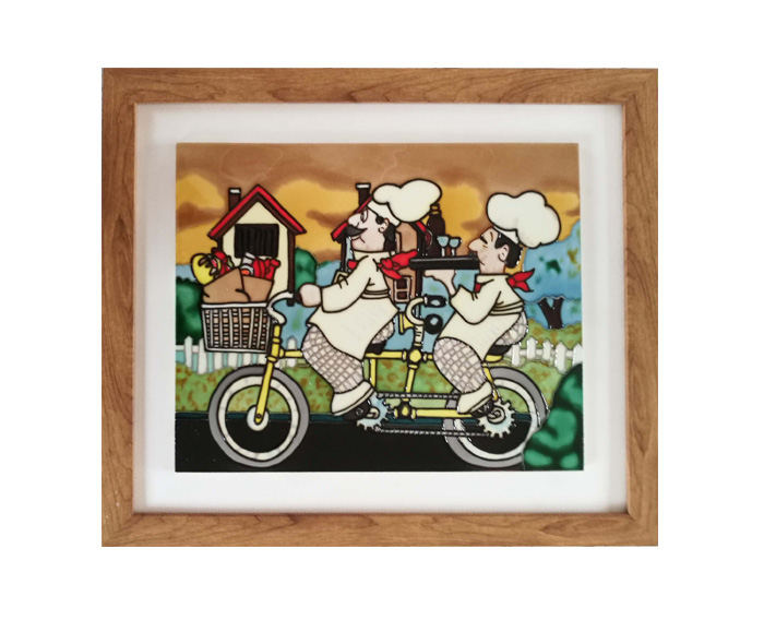 Framed craft YJS-056