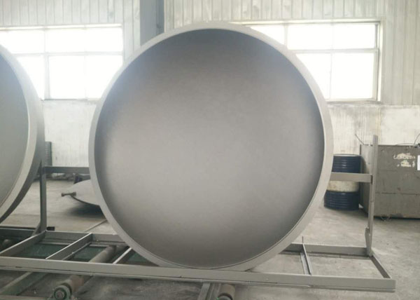 Elliptical Weld Steel tank cover dish head