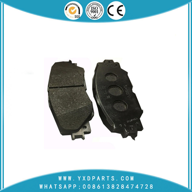 car brake pads of durable Semi - Metallic brake pad oem 04465-42160 for TOYOTA SUBARU LEXUS