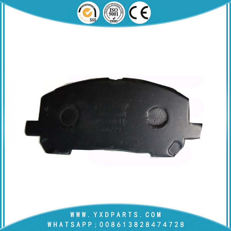 China auto car / truck parts brake pad factory manufacturer oem 04465-48020 for TOYOTA KLUGER LEXUS RX