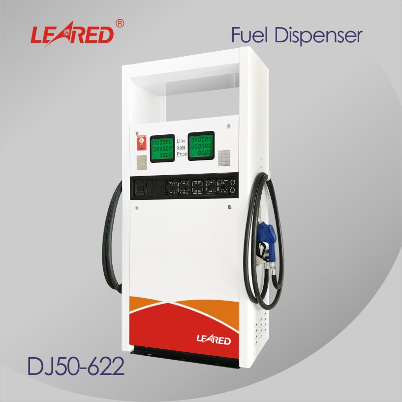 China New Style Stability Function Computer Gas Station 2 Nozzles Fuel Dispenser Pump manufacturer