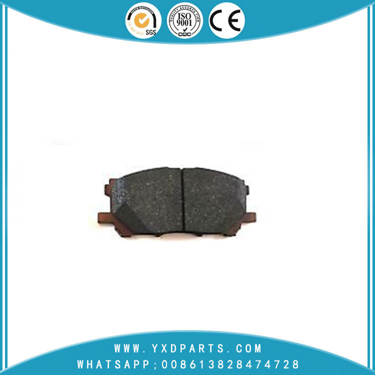 Wholesale car Disc Brake Pads oem 04465-48100 for LEXUS RX TOYOTA HARRIER KLUGER