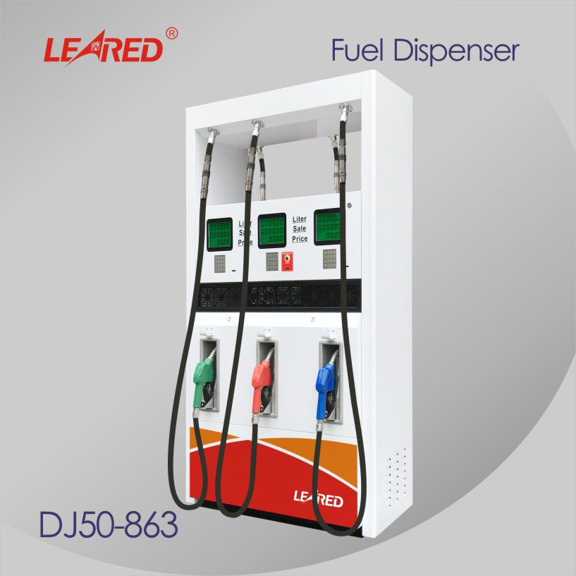 China Brand high quality 6 Nozzles Fuel Dispenser Pump for Gas Station
