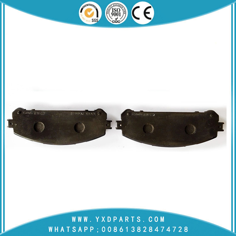Best car Parts Semi Metallic Disc Bus/truck car Brake Pads oem 04465-48150 for LEXUS RX NX TOYOTA SIENNA