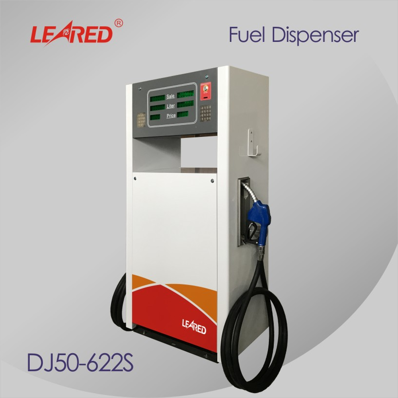 China factory Safety convenient Gas Station 2 Nozzles Fuel Dispenser Pump