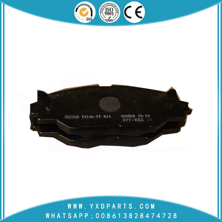Supplier wholesale High quality ceramic brake pads oem 04465-53040 for LEXUS IS