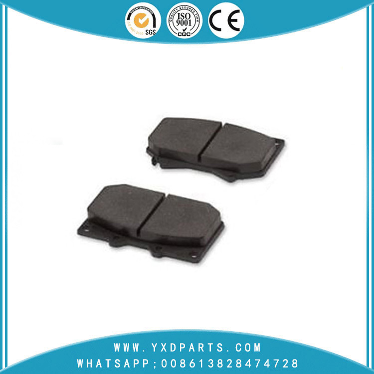 Chinese factory supply car Brake Pads oem 04465-60220 for BAW LUBA LEXUS LX TOYOTA LAND PRADO