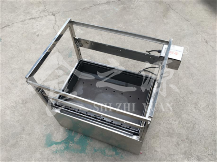 Smokeless charcoal barbecue stove